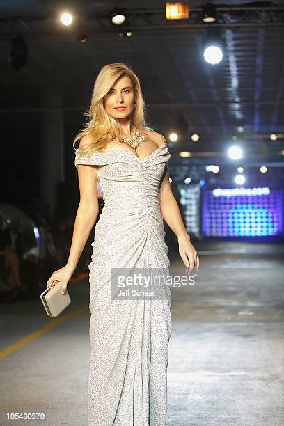 A model walks the runway at Kristin Cavallari Hosts Akira's 11th Annual Fall Fashion Show Featuring Kristin Cavallari By Chinese Laundry on October...