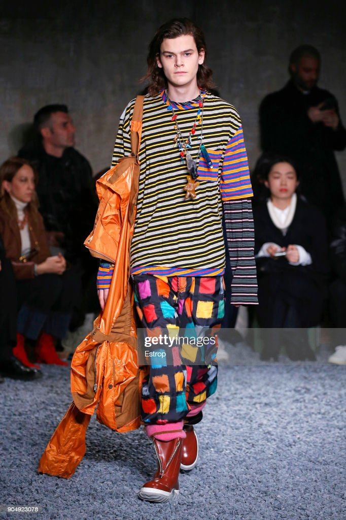 Marni - Runway - Milan Men's Fashion Week Fall/Winter 2018/19 : ニュース写真