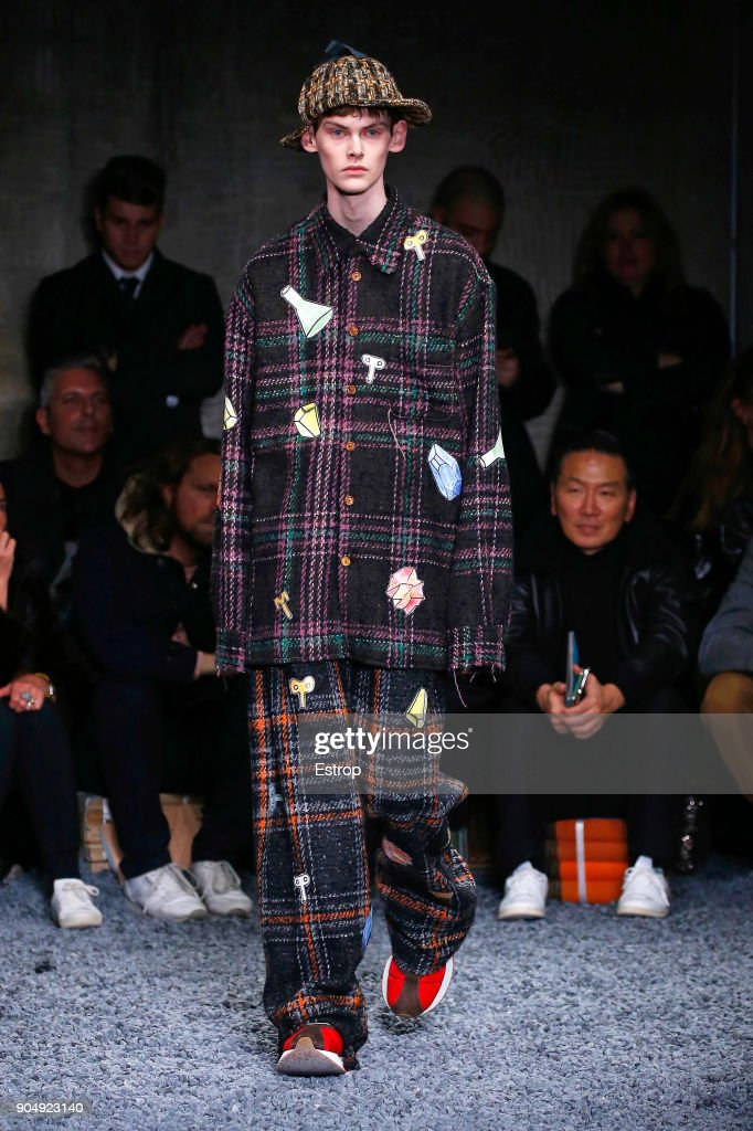 Marni - Runway - Milan Men's Fashion Week Fall/Winter 2018/19 : ニュース写真