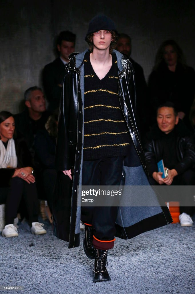 Marni - Runway - Milan Men's Fashion Week Fall/Winter 2018/19 : Nachrichtenfoto
