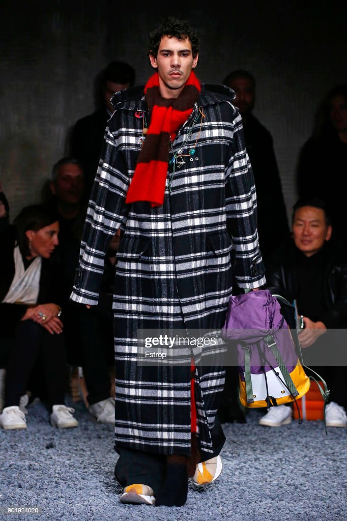 Marni - Runway - Milan Men's Fashion Week Fall/Winter 2018/19 : News Photo