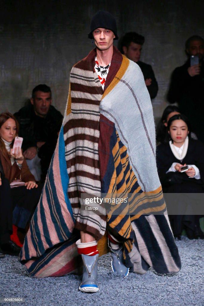 Marni - Runway - Milan Men's Fashion Week Fall/Winter 2018/19 : Fotografía de noticias