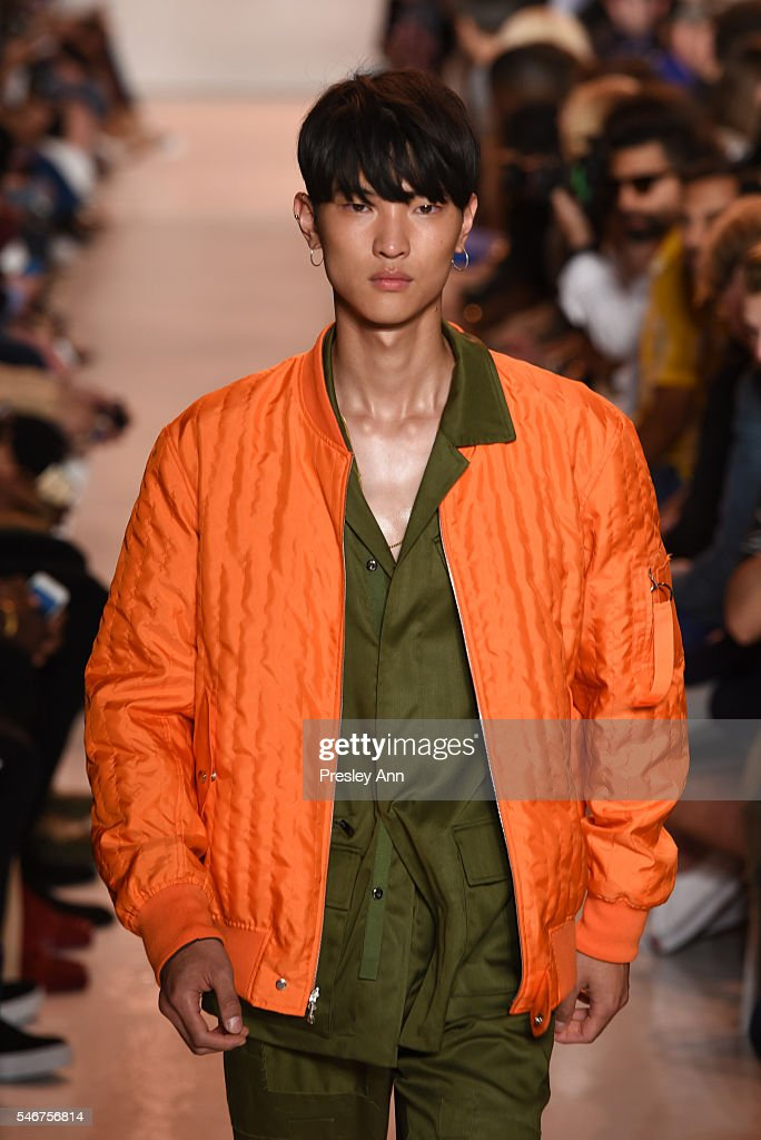Ovadia & Sons - Front Row - New York Fashion Week: Men's S/S 2017 : News Photo