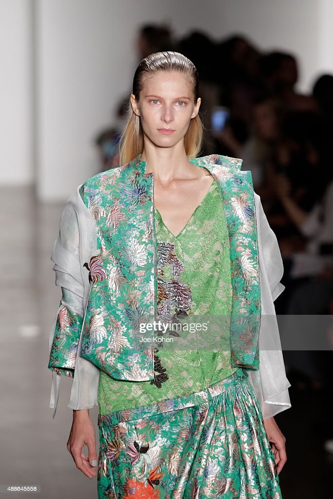 Parsons MFA - Runway - Spring 2016 MADE Fashion Week : News Photo