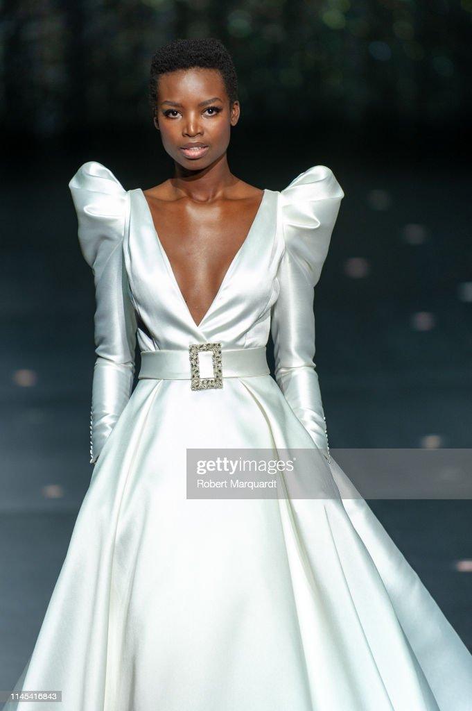 Pronovias - Show - Valmont Barcelona Bridal Fashion Week 2019 : News Photo