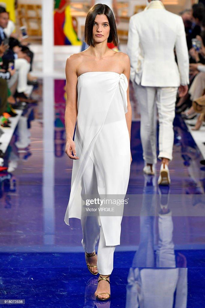 c225969f1e7 Ralph Lauren - Runway - February 2018 - New York Fashion Week   News Photo
