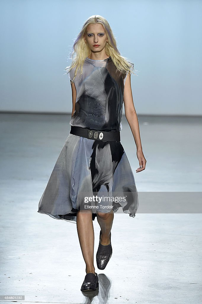 Sally LaPointe - Runway - Mercedes-Benz Fashion Week Spring 2015 : News Photo