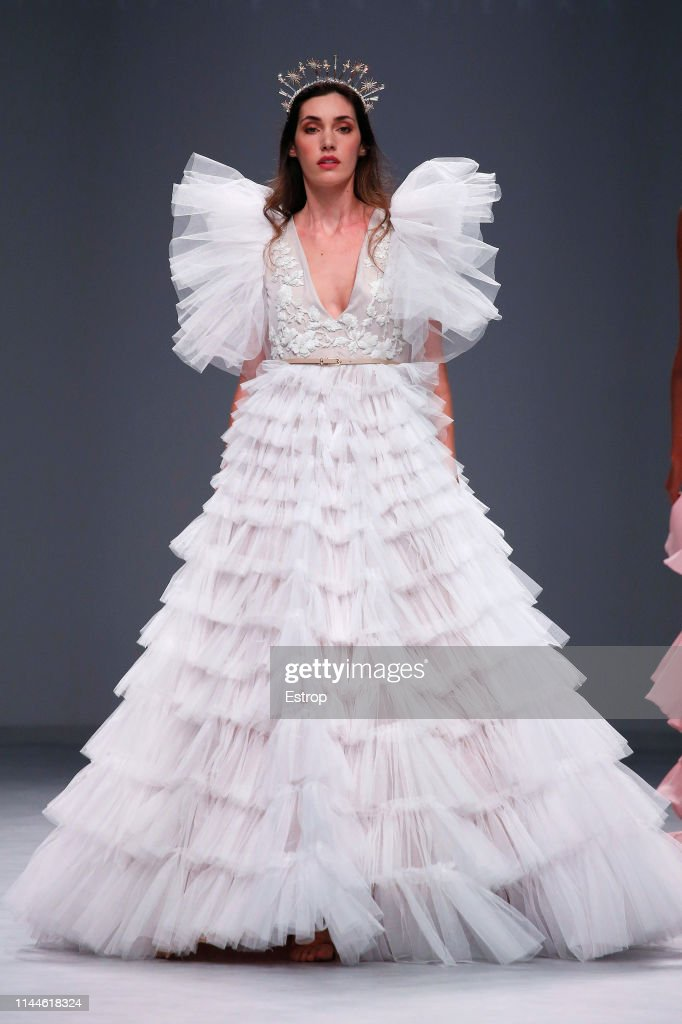 ESP: Day 1 - Valmont Barcelona Bridal Fashion Week 2019