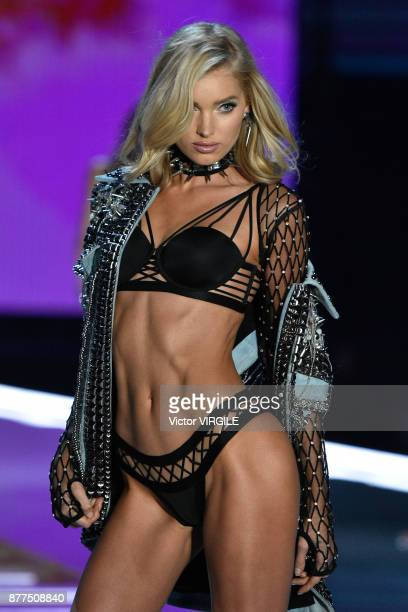 Model walks the runway at the 2017 Victoria's Secret Fashion Show In Shanghai - Show at Mercedes-Benz Arena on November 20, 2017 in Shanghai, China.