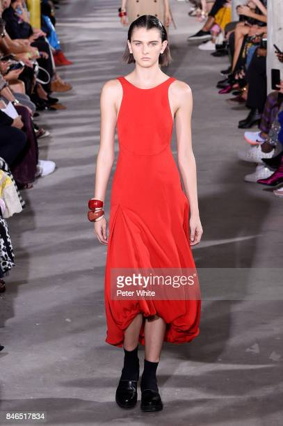 42c96f7660 A model walks the runway at the 31 Phillip Lim Ready to Wear Spring Summer