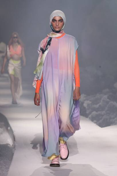 DEU: ABOUT YOU Fashion Show - ABOUT YOU Fashion Week Autumn/Winter 21