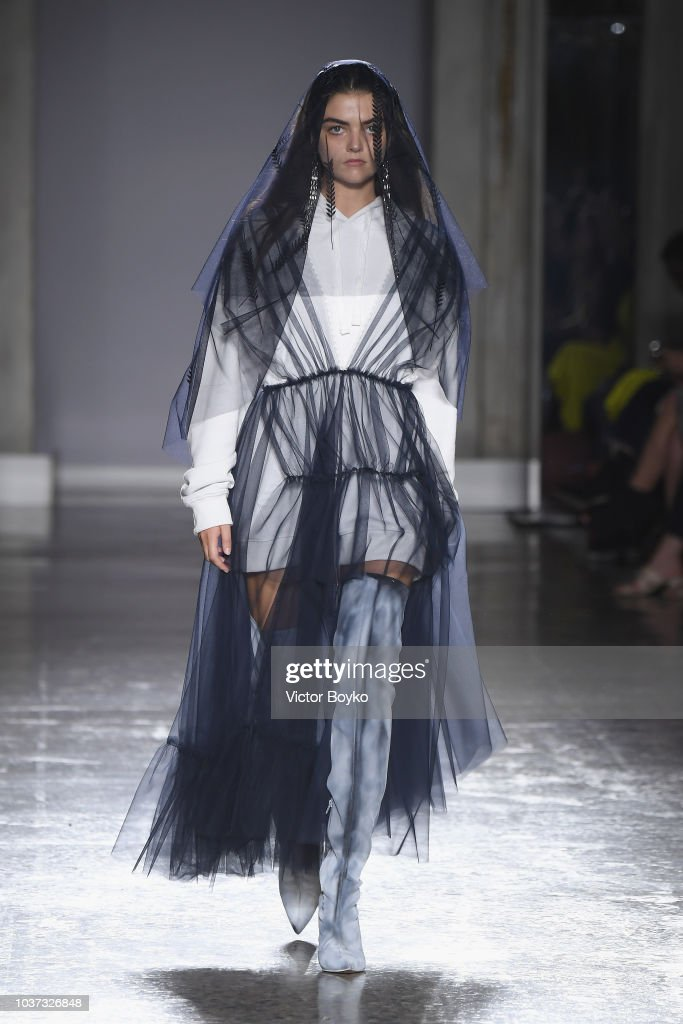 model-walks-the-runway-at-the-act-n1-show-during-milan-fashion-week-picture-id1037326848