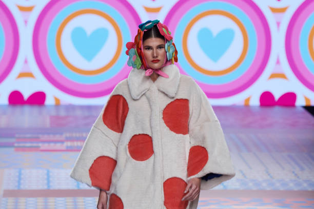 ESP: Agatha Ruiz De La Prada - Mercedes Benz Fashion Week Madrid - April 2021
