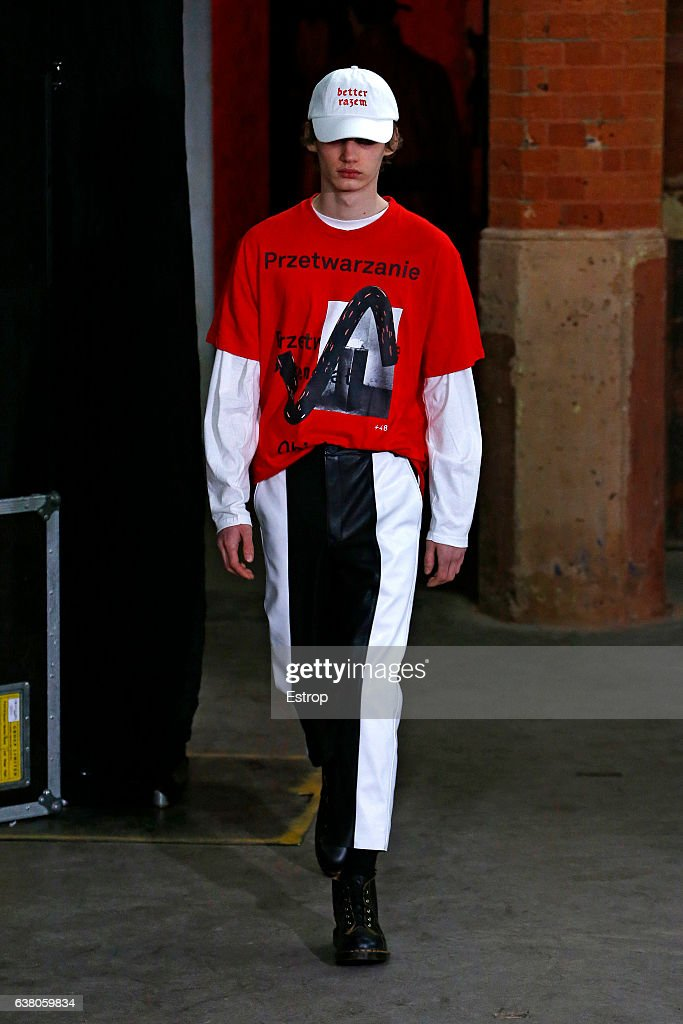 Agi & Sam x The Woolmark Company - Runway - LFW Men's January 2017 : News Photo