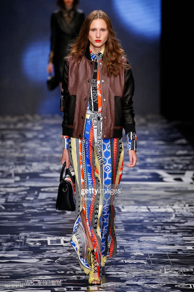 model-walks-the-runway-at-the-aigner-show-during-milan-fashion-week-picture-id1041976744