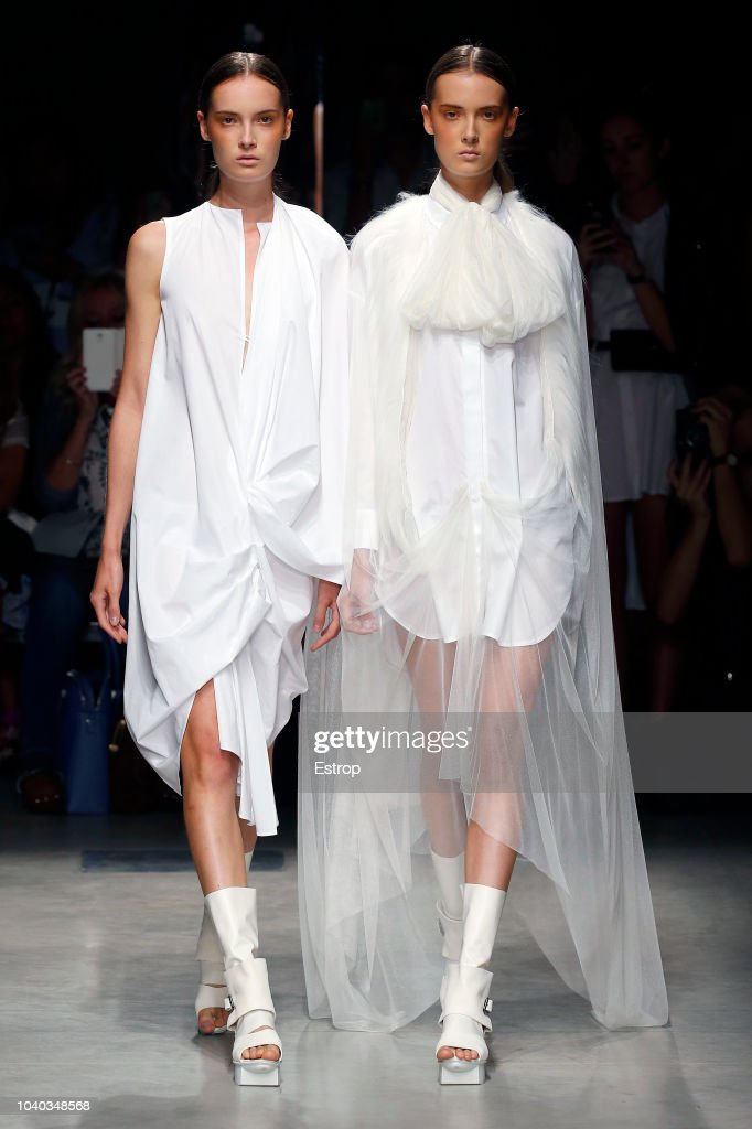 Alberto Zambelli - Runway - Milan Fashion Week Spring/Summer 2019 : ニュース写真