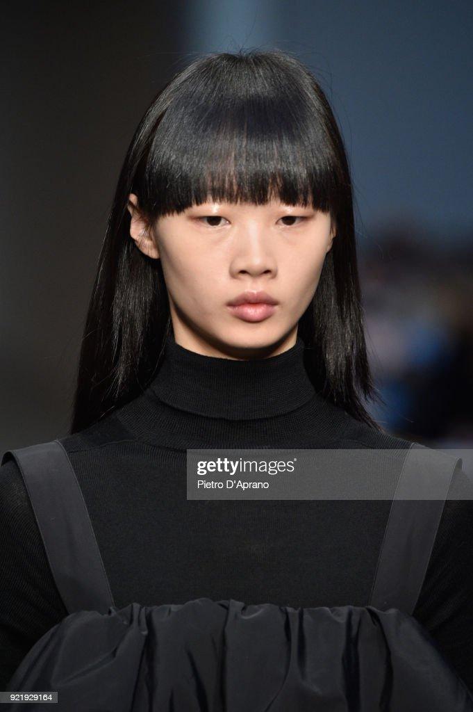 Albino Teodoro - Runway - Milan Fashion Week Fall/Winter 2018/19 : News Photo