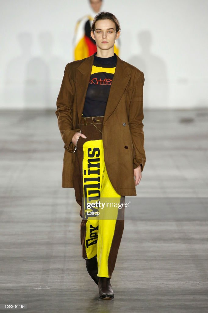 Alex Mullins - Runway - LFWM January 2019 : ニュース写真