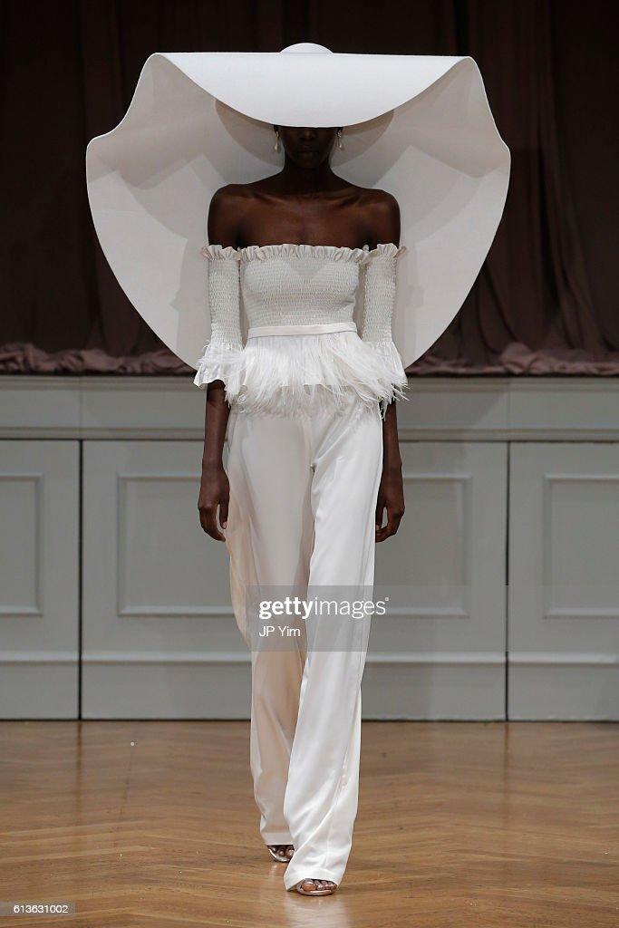 Alon Livne White 2017 Bridal Collection Runway Show : News Photo
