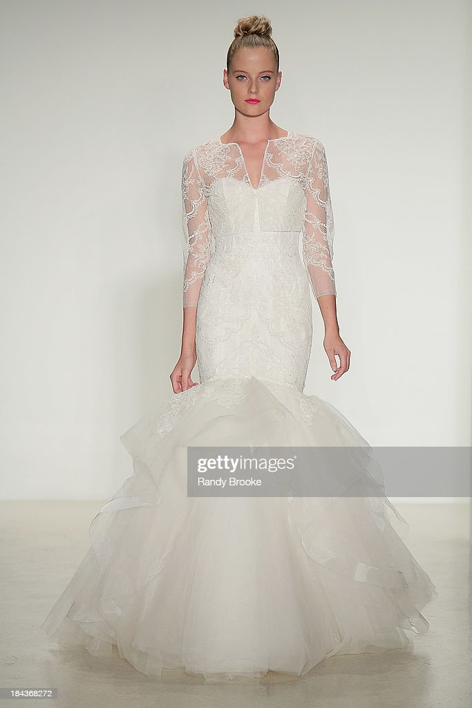 Fall 2014 Bridal Collection - Amsale - Show : News Photo