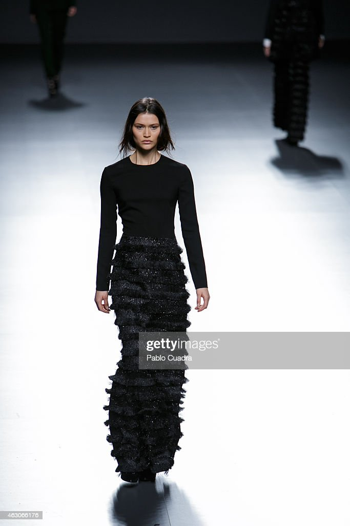 Angel Schlesser Runway Mfw Fw2015 Photos And Images Getty Images