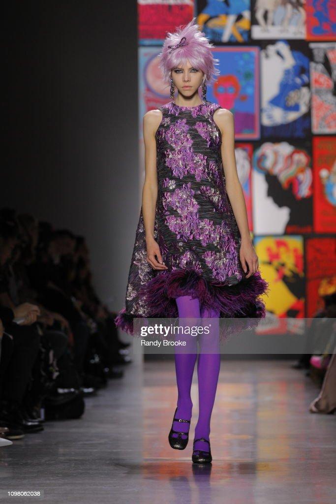 Anna Sui - Runway - February 2019 - New York Fashion Week: The Shows : News Photo
