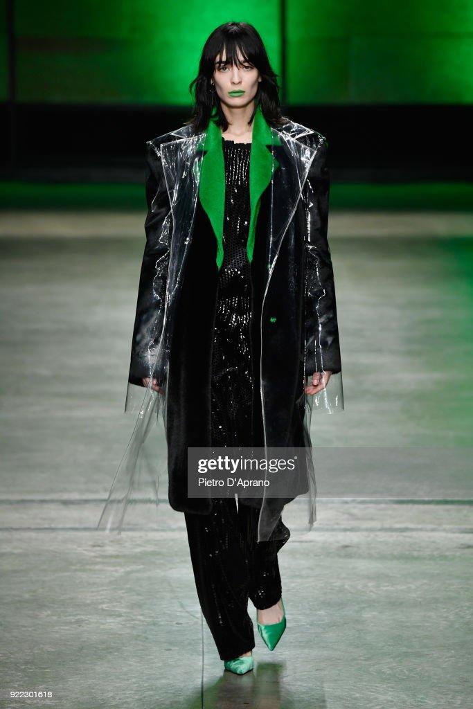 Annakiki - Runway - Milan Fashion Week Fall/Winter 2018/19 : News Photo