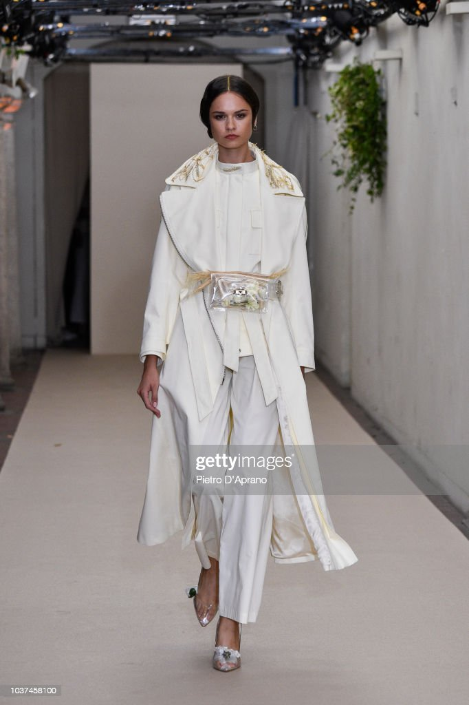 model-walks-the-runway-at-the-antonio-croce-show-during-milan-fashion-picture-id1037458100