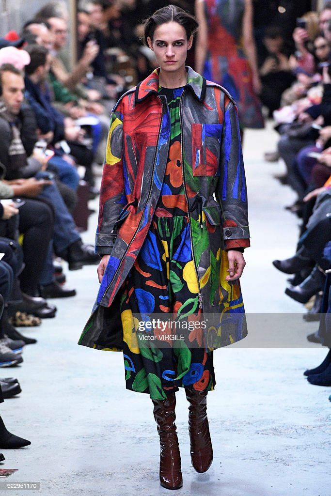Arthur Arbesser - Runway - Milan Fashion Week Fall/Winter 2018/19 : News Photo