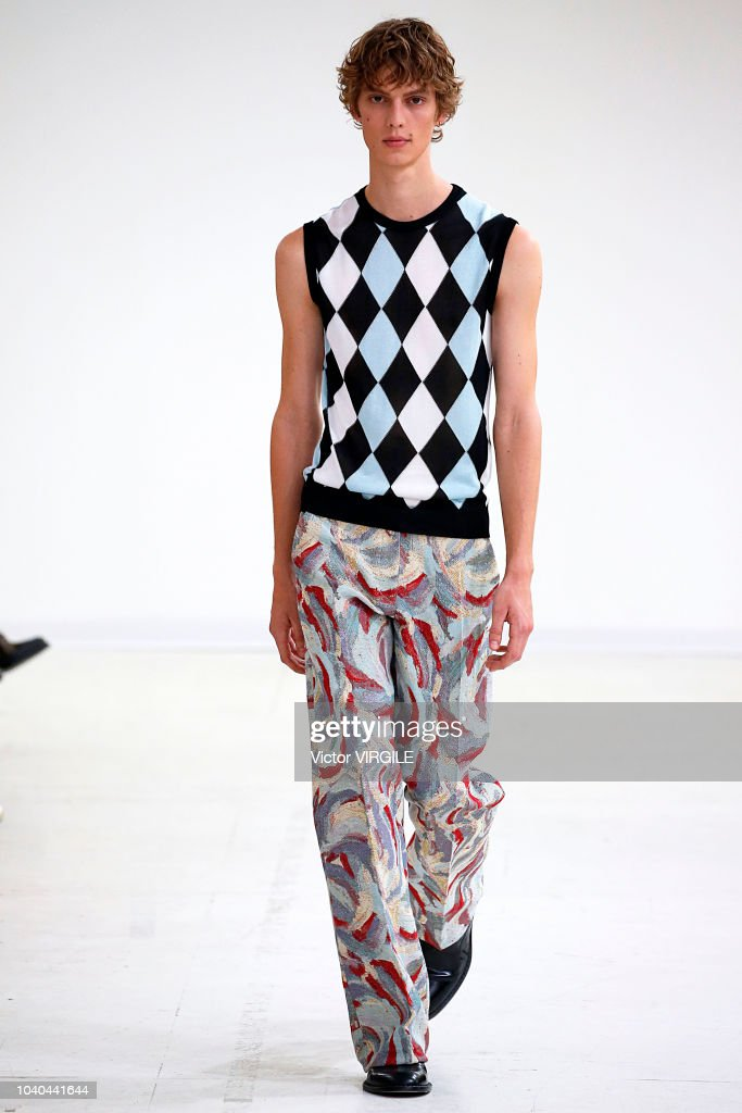Arthur Arbesser - Runway - Milan Fashion Week Spring/Summer 2019 : ニュース写真