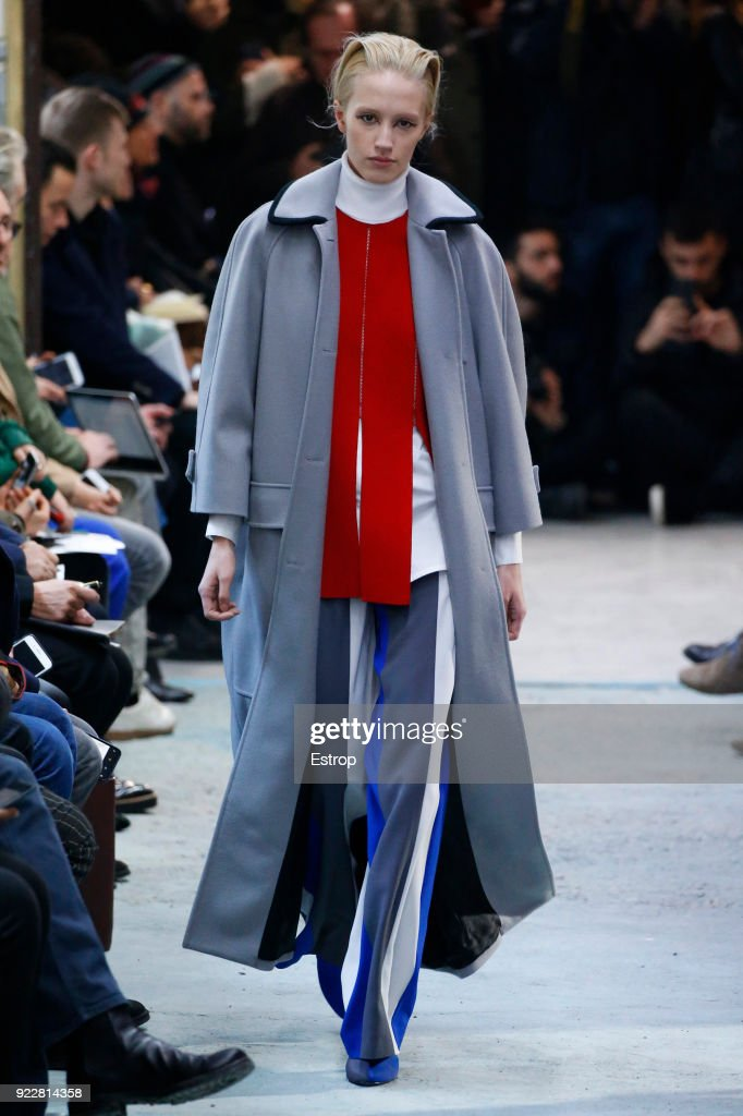 Arthur Arbesser - Runway - Milan Fashion Week Fall/Winter 2018/19 : Nachrichtenfoto