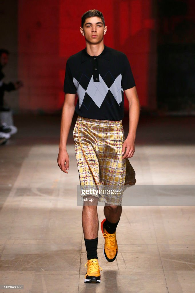 Astrid Andersen - Runway - LFWM January 2018 : News Photo