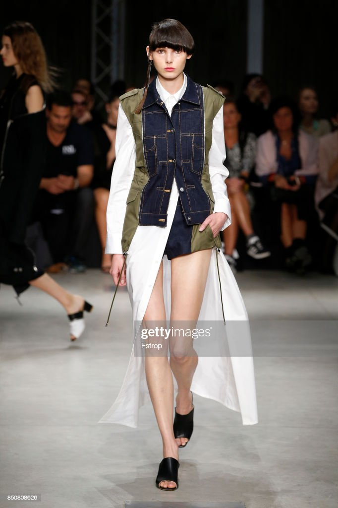Atsushi Nakashima - Runway - Milan Fashion Week Spring/Summer 2018 : ニュース写真