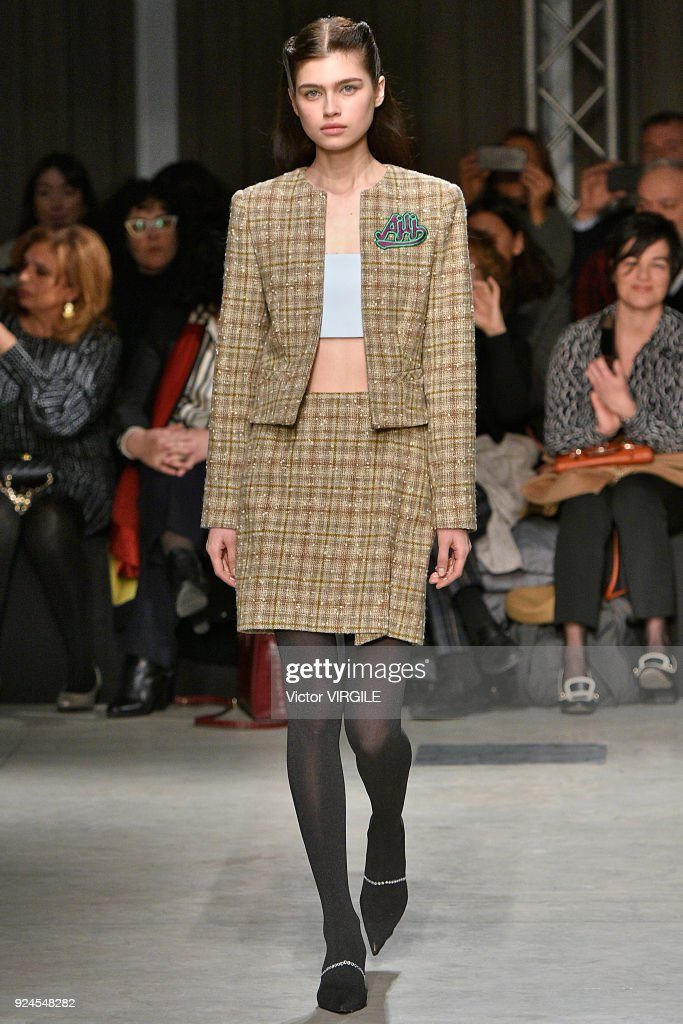 Au Jour Le Jour - Runway - Milan Fashion Week Fall/Winter 2018/19