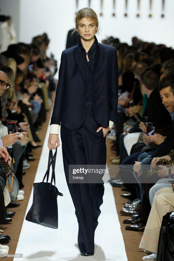 model-walks-the-runway-at-the-balenciaga-show-at-paris-fashion-week-picture-id1133404091