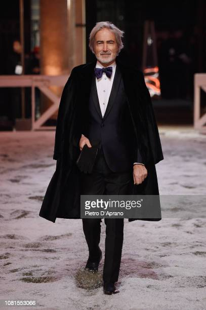 A model walks the runway at the Billionaire show during Milan Menswear Fashion Week Autumn/Winter 2019/20 on January 12 2019 in Milan Italy