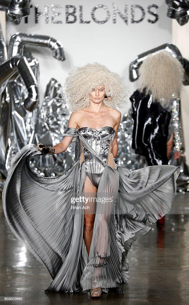 The Blonds - Runway - September 2016 - MADE Fashion Week : News Photo