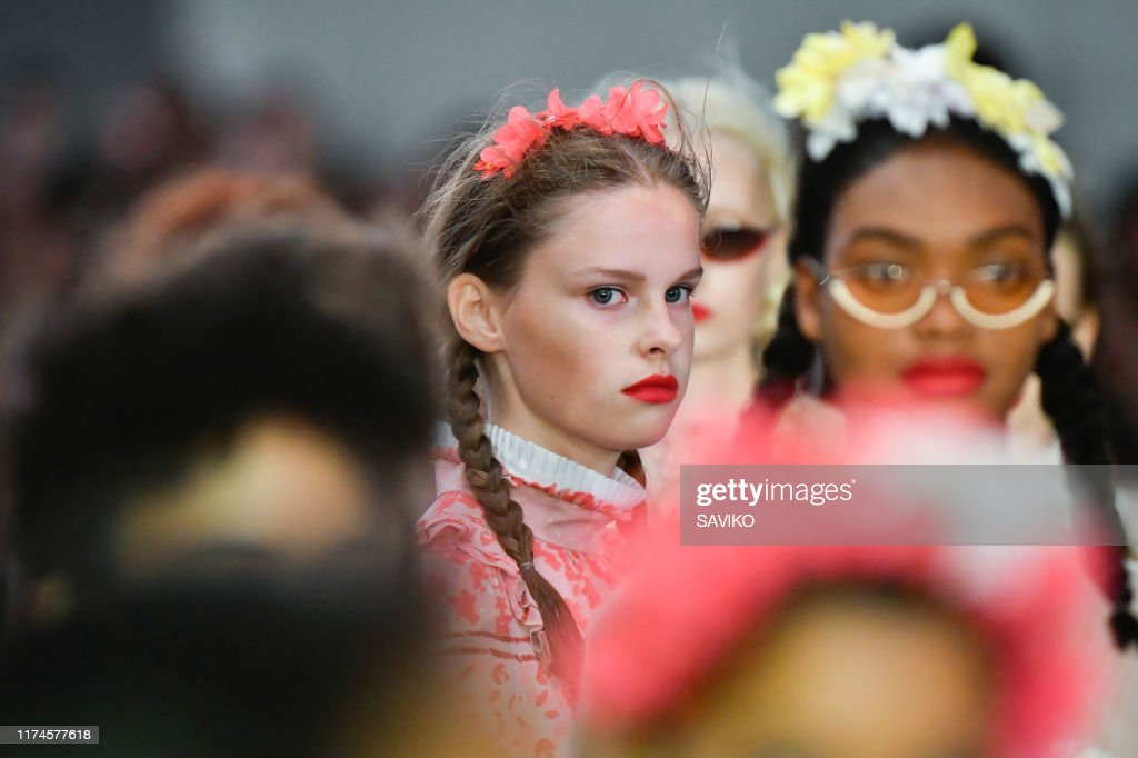 Bora Aksu - Details - LFW September 2019 : Photo d'actualité