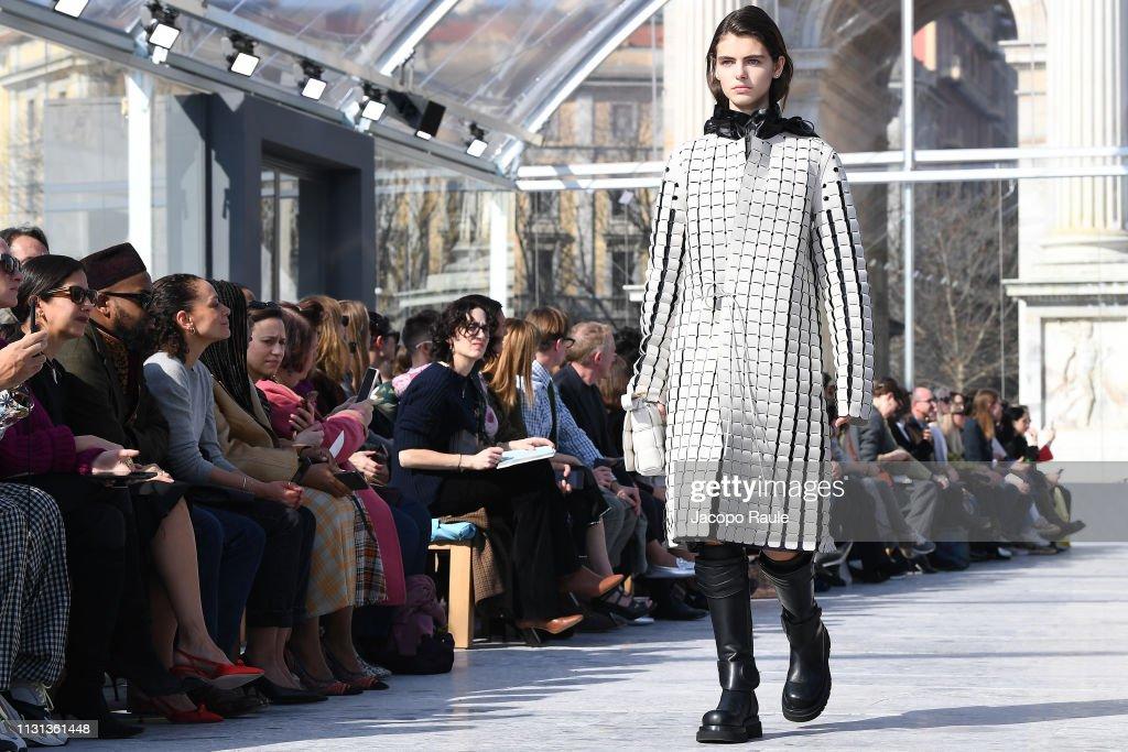 Bottega Veneta - Runway: Milan Fashion Week Autumn/Winter 2019/20 : ニュース写真