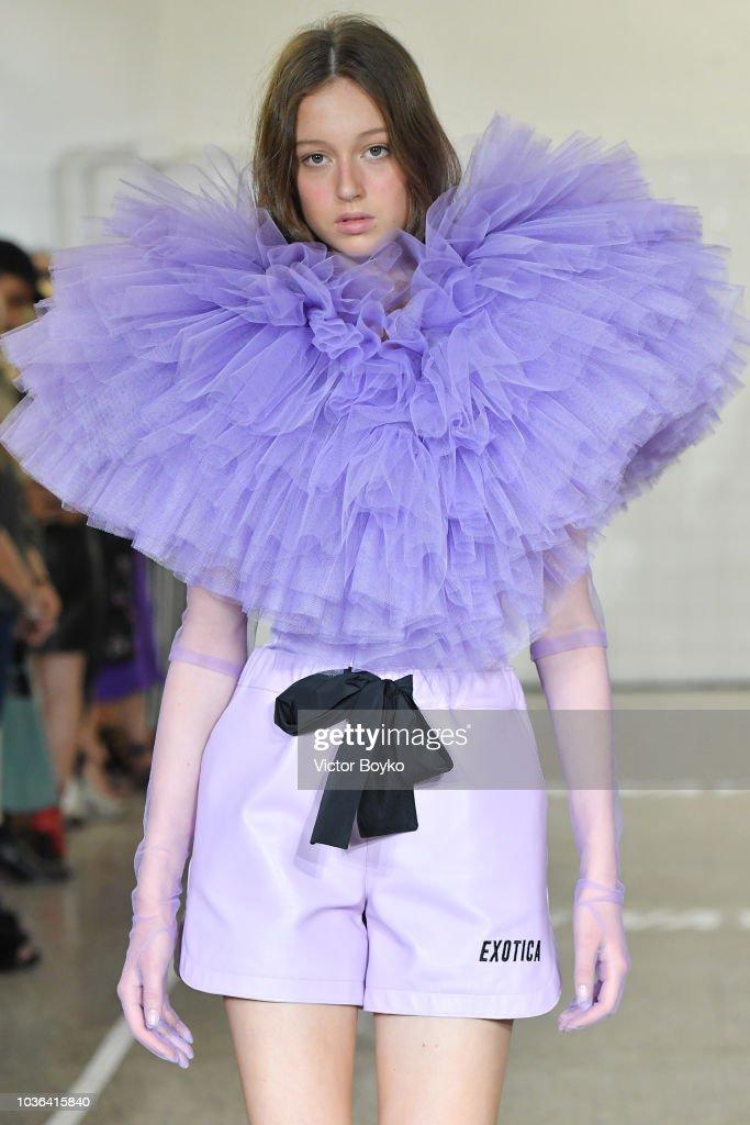 Brognano - Runway - Milan Fashion Week Spring/Summer 2019 : Nachrichtenfoto