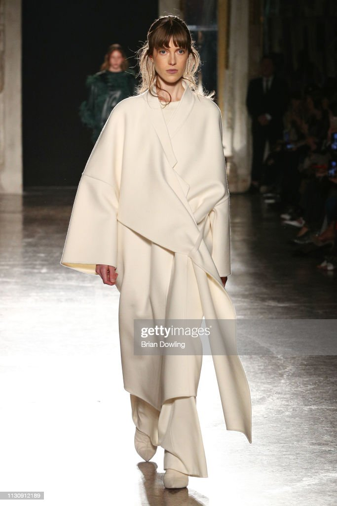 ITA: Calcaterra - Runway: Milan Fashion Week Autumn/Winter 2019/20