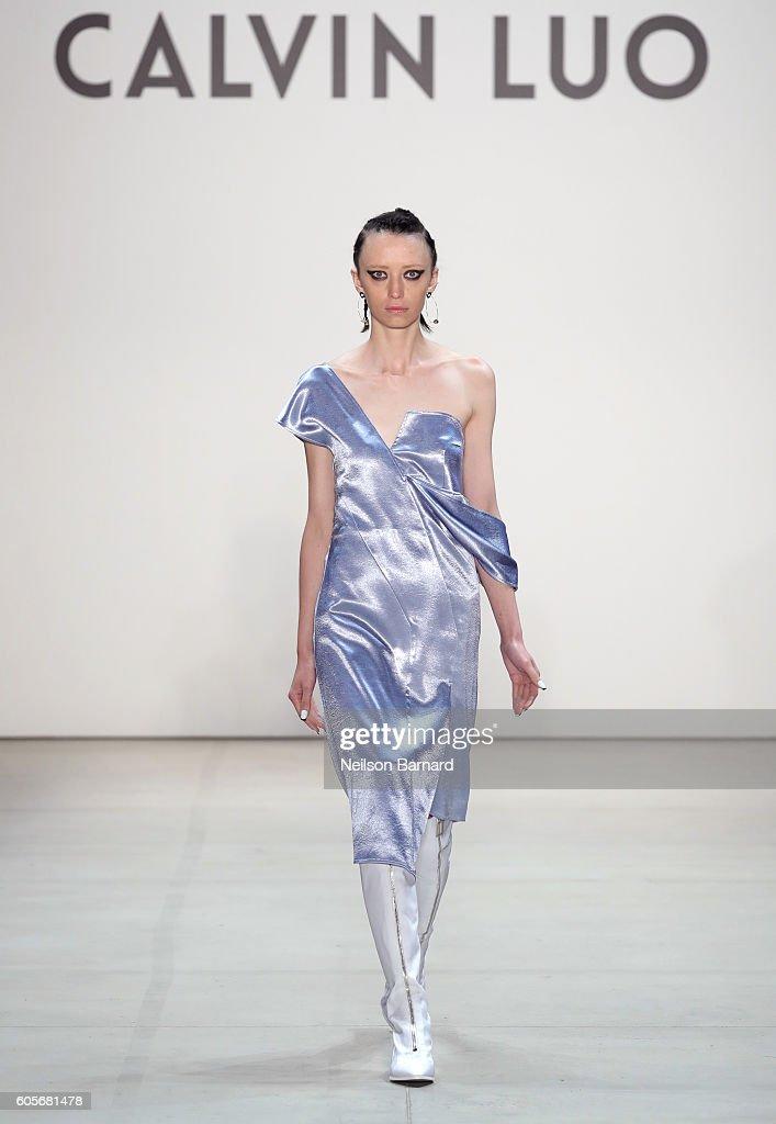 NY: Calvin Luo - Runway - September 2016 - New York Fashion Week: The Shows
