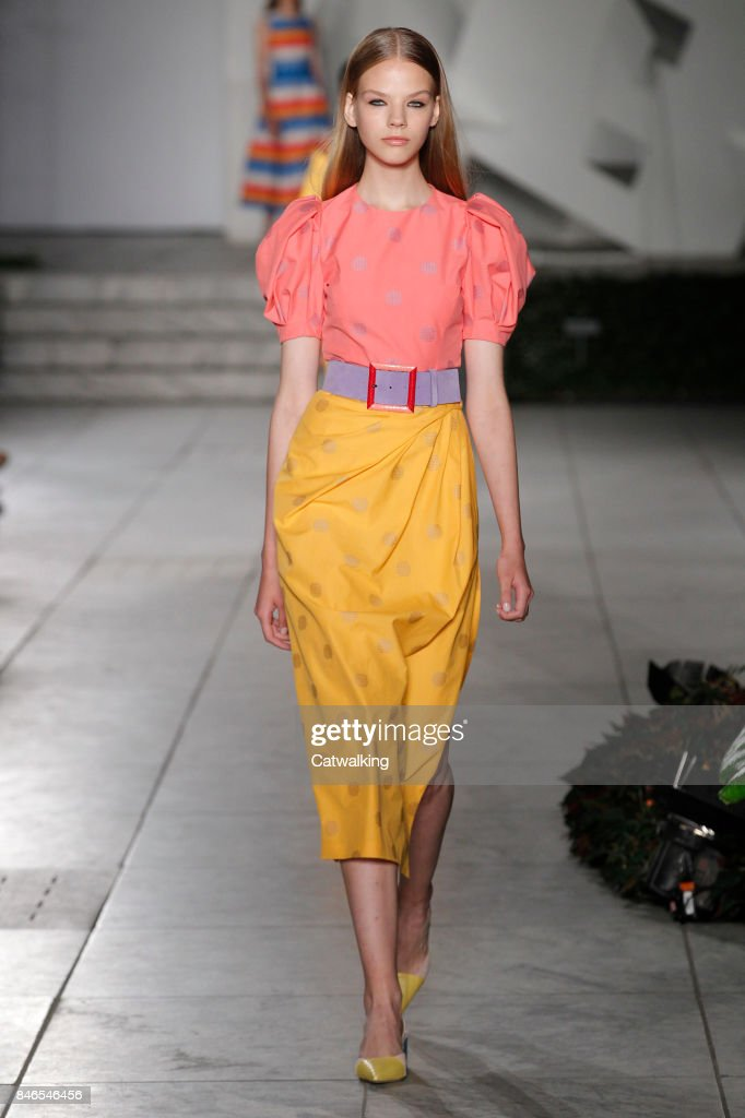Carolina Herrera Spring/Summer at New York Fashion Week
