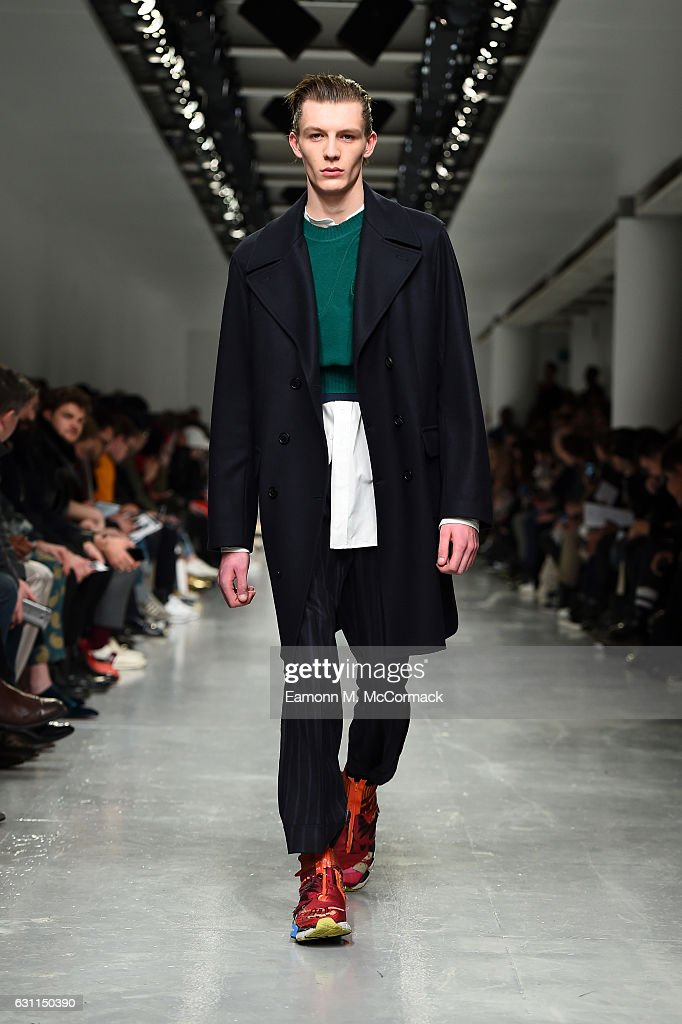 Casely-Hayford - Runway - LFW Men's January 2017 : News Photo