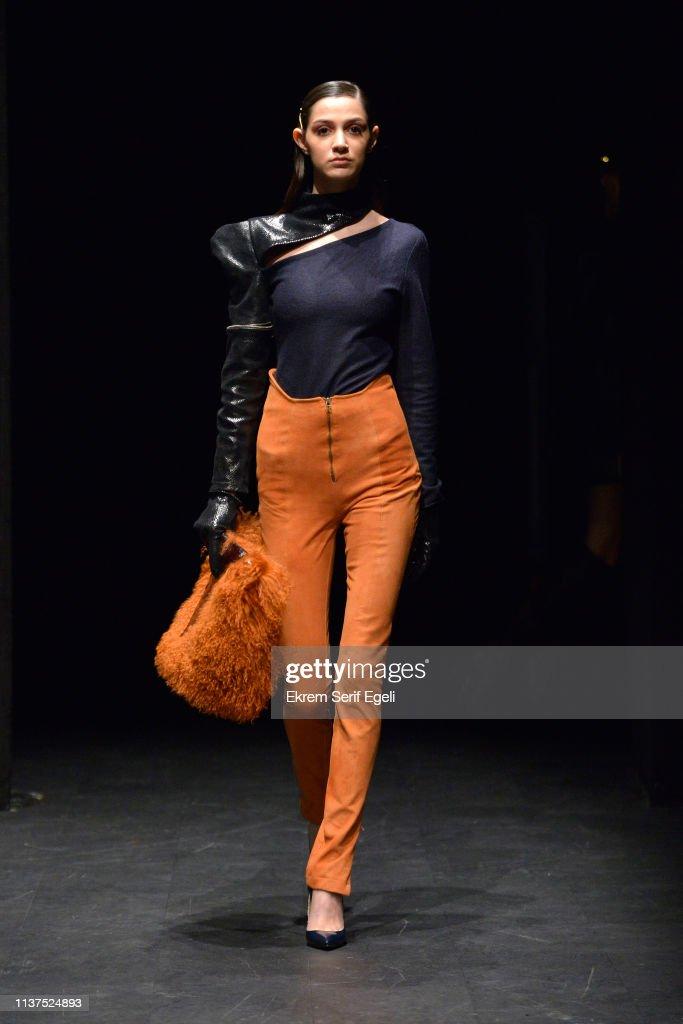 TUR: Ceren Ocak - Runway -  Mercedes-Benz Fashion Week Istanbul - March 2019