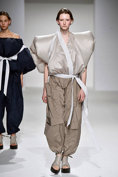 f74c6bed2c A model walks the runway at the Chalayan Spring Summer 2017 fashion show  during Paris Fashion