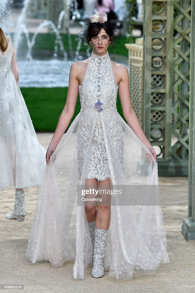 Chanel - Spring Summer 2018 Runway - Paris Haute Couture Fashion Week