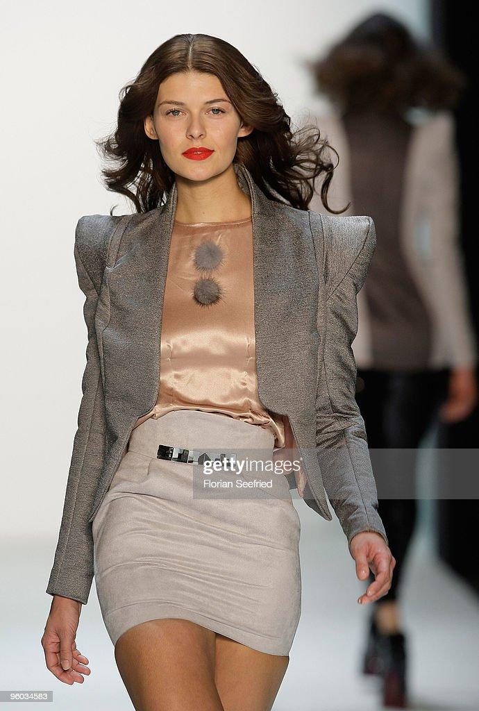 MBFW A/W 2010: Chaya Fashion Show : News Photo