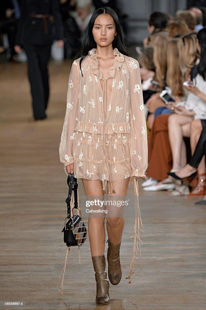 Chloe - Runway RTW - Fall 2015 - Paris Fashion Week : ニュース写真