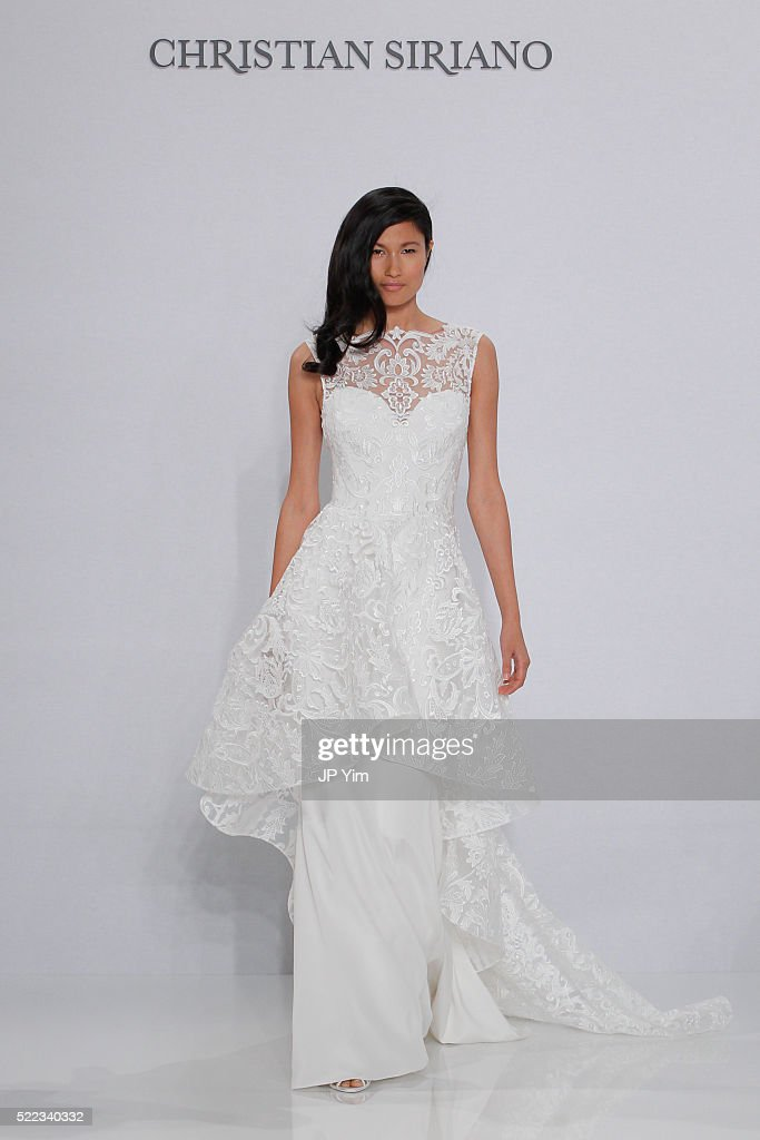 Christian Siriano For Kleinfeld Spring/Summer 2017 Runway Show : Nieuwsfoto's